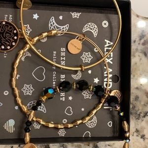 3 Alex and Ani braclets